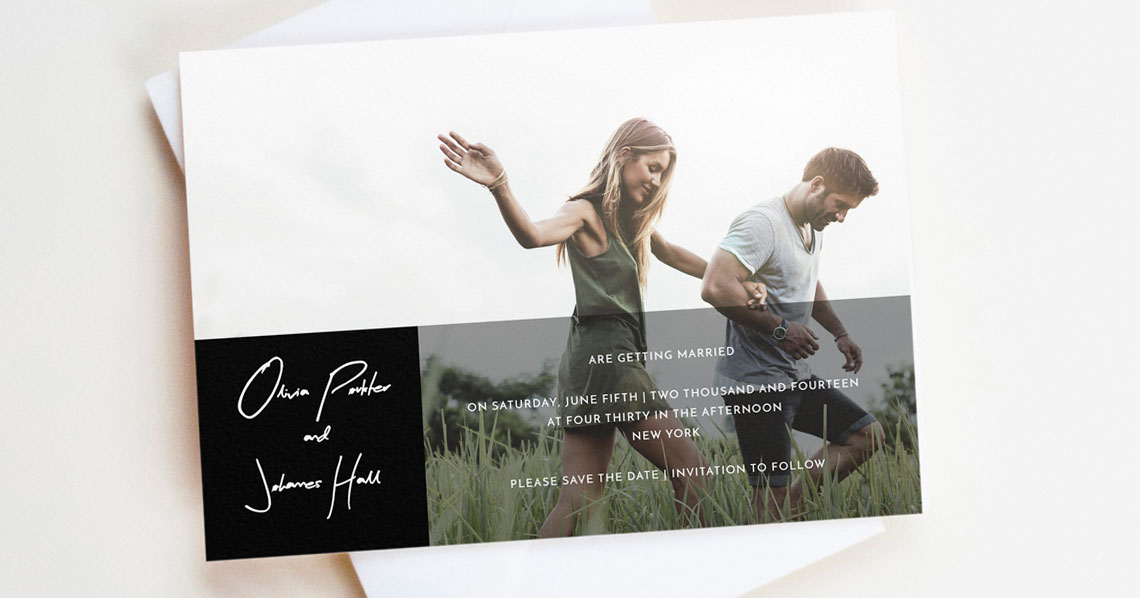 Are Save the Dates the Same as Wedding Invitations? Utterly Printable