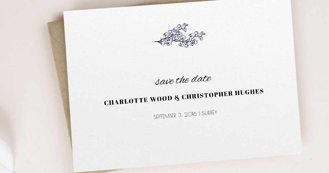 The Real Deal: Everything You Need to Know About Wedding Save the Date Cards Utterly Printable