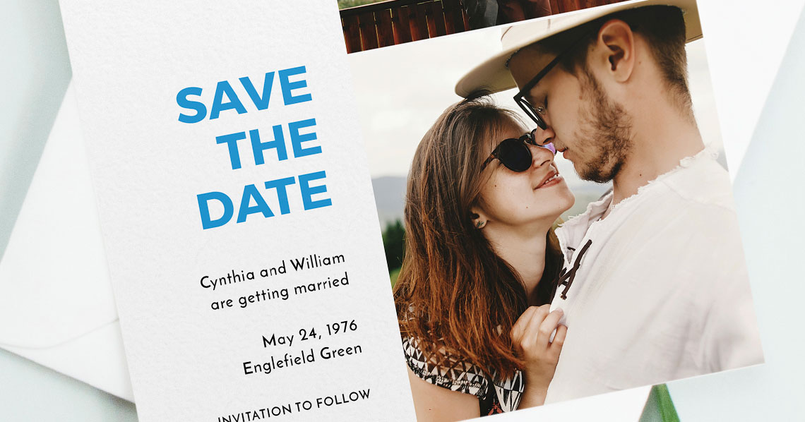 What are Wedding Save the Date Cards? Utterly Printable