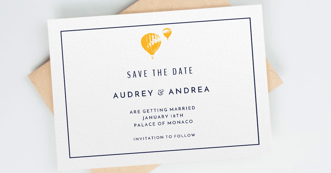 What is a Wedding Save the Date Card? Utterly Printable