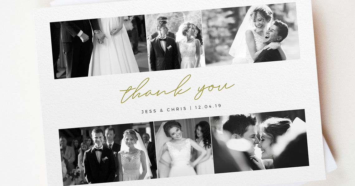 How Soon After my Wedding Should I Send Out Thank You Cards? Utterly Printable